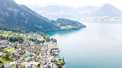 Die Seegemeinde Vitznau erwartet im Budget 2020 aufgrund der Aufgaben- und Finanzreform ein hohes Defizit. (Bild: Roger Grütter(28. Mai 2018))