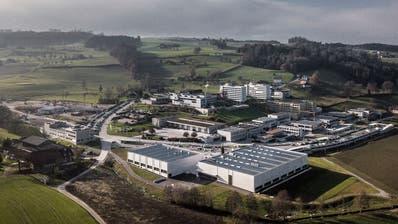 Das Areal des Campus Sursee hat sich in den letzten Jahren auch dank eines Masterplans stark entwickelt. (Bild: Pius Amrein (3. Dezember 2019))