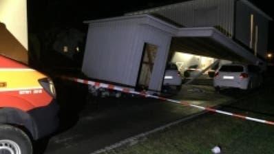 Sturmböen richten im Rheintal grosse Schäden an Häusern an