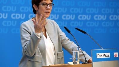 CDU will eine Flüchtlingspolitik «mit Humanität und Härte»