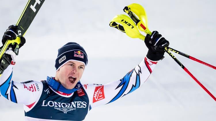 Luca Aerni war der Favorit der Schweizer. (Bild: EPA/VALDRIN XHEMAJ)