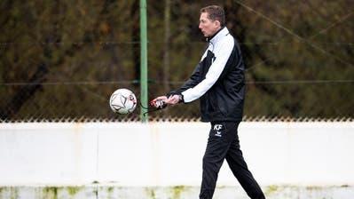 Cheftrainer Konrad Fünfstück hat den FC Wil in ruhige Fahrwasser geführt.Bild: Urs Lindt/Freshfocus