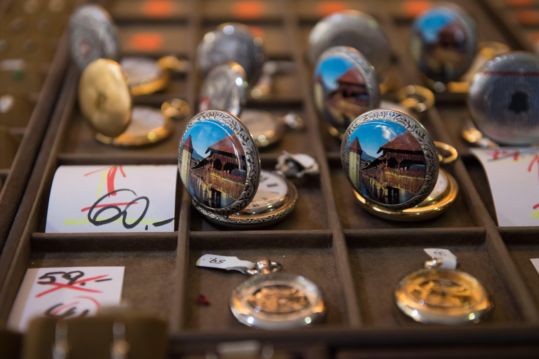 55 Jahre lang gab es im Watches Discount Uhren, Schmuck und Taschenmesser zu kaufen.