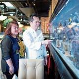 Gastronomie: Das Herzstück dieses Chamer Restaurants ist ein Aquarium