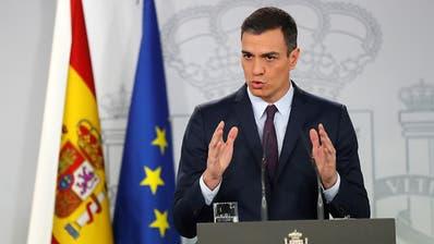 Regierungskrise in Spanien: Ministerpräsident Sánchez ruft Neuwahlen aus