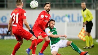 Der FCSGverliert 1:3 gegen Thun - Sorgicmit Doppelpack