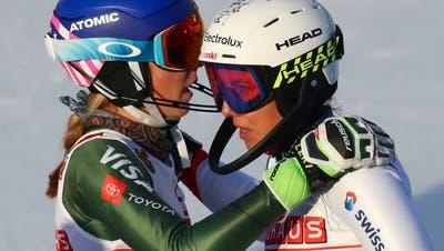 Wendy Holdener verpasst eine Slalom-Medaille