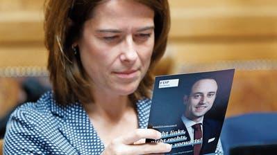 Klimadebatte in der FDP: Parteipräsidentin Petra Gössi und das Wasserfallen-Problem