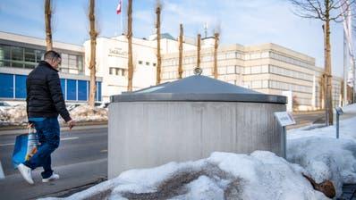 In zahlreichen Ostschweizer Gemeinden haben sich die Unterflurcontainer etabliert - wie hier in der Stadt St.Gallen. (Bild: Urs Bucher/TAGBLATT)