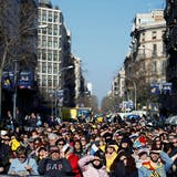 Generalstreik gegen Separatistenprozess: Proteste in Katalonien