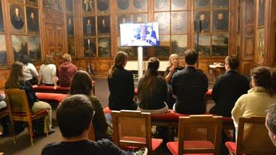 Abendsitzung des Luzerner Stadtrats mit Zuschauerinnen und Zuschauern im Rathaus in Luzern. (Bild: Beatrice Vogel)