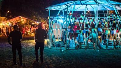 Eine Blick aufs Festivalgelände während des «Out in the Green Garden» 2018. (Bild: Reto Martin)