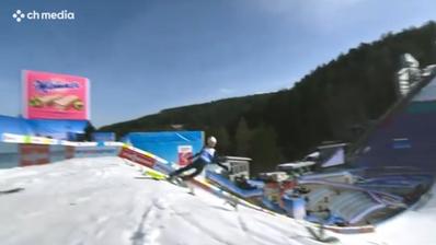 Misslungenes WM-Training: Dieser Skispringer hat riesiges Glück