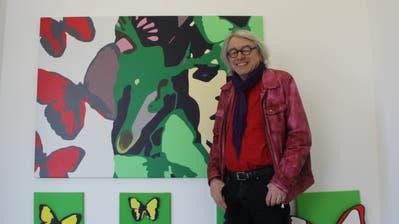 30 Jahre alter Artikel vom «Tagblatt»: Jonny Müller stellte im Dezember 1989 in der Galerie «Café-Elite» in Rorschach aus. («Tagblatt» 1989)