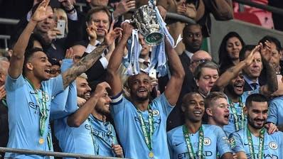 Manchester City holt zum sechsten Mal den Ligacup