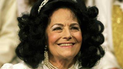 Die aus der Schweiz stammende Sektenführerin Erika Bertschinger-Eicke, besser bekannt als «Uriella», bei einem Prozess vor dem Landsgericht Waldshut (D) im Mai 1996.(Bild: Keystone)