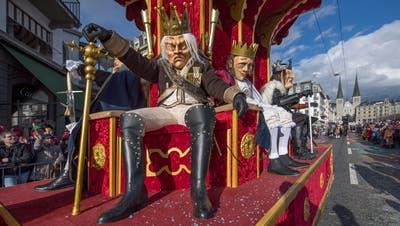 Bist du ein «König» der Luzerner Fasnacht? Beweise dein Wissen im Quiz