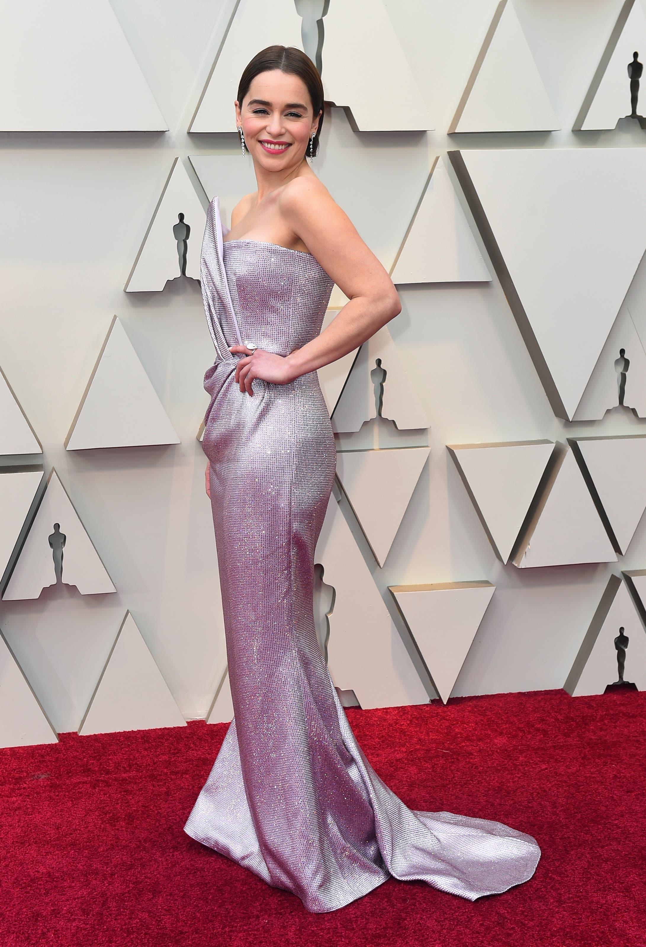 Emilia Clarke. (Bild: Jordan Strauss/Invision/AP)