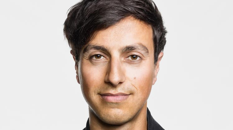 Der Autor und PolitologeBijan Moini (34)                                  (Bild PD)
