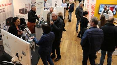 Blick in die Ausstellung der Immozionale Thurgau 2019 im Dreispitz Kreuzlingen. (Bild: PD)