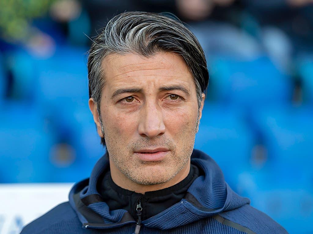 Sion-Trainer Murat Yakin brauchte seine Spieler für den Cup-Viertelfinal gegen Basel nicht zusätzlich zu motivieren (Bild: KEYSTONE/GEORGIOS KEFALAS)