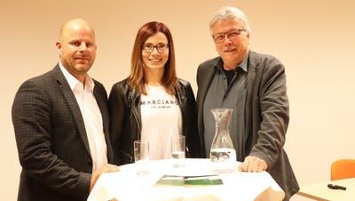 Kantonsrat Reto Lagler, Bezirkspräsidentin Sandra Stadler und Ernst Zülle, Stadtrat von Kreuzlingen und künftiger Kantonsrat. (Bild: PD)