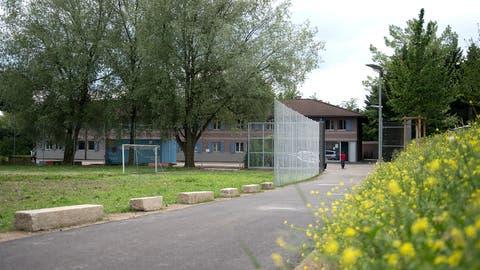 Die Durchgangsstation Steinhausen im Juni 2017. (Bild: Maria Schmid)