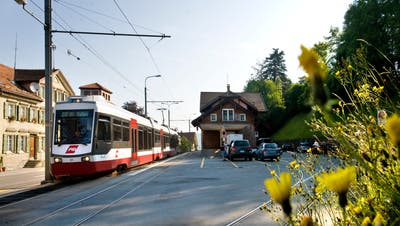 Der Trogener Bahnhof wurde 1903 erbaut. Bild: Martina Basista