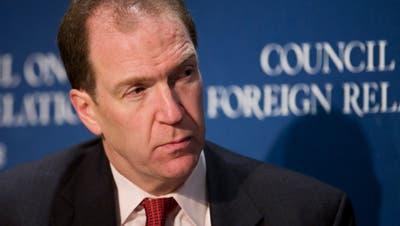 David Malpass, momentan Chefdiplomat des US-Finanzministeriums.Bild: Mark Lennihan/AP