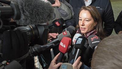 Pflichtverteidigerin Renate Senn wird vorgeworfen, zu viel Aufwand für den Prozess im Fall Rupperswil betrieben zu haben. Bild: Alex Spichale/AZ (Aarau, 13 Dezember 2018)