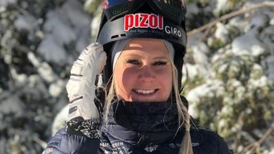 Julie Zogg aus Weite sichert sich in Park City (USA) den Weltmeistertitel im Parallel-Slalom der Alpin-Snowboarderinnen. (Bild: PD)