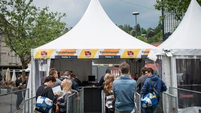 Das Open Air St.Gallen hatbislang rund 10'000 Tickets im Vorverkauf abgesetzt. (Bild: Luca Linder)