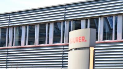 Die Firma Saurer im Schöntal in Arbon. (Bild: Max Eichenberger)