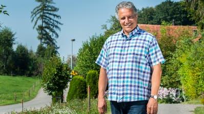Markus Thalmann ist der wohl am längsten amtierende Gemeindepräsident im Thurgau. Genug hat er aber noch lange nicht - er will für weitere vier Jahre die Gemeinde Tägerwilen leiten. (Bild: Andrea Stalder)