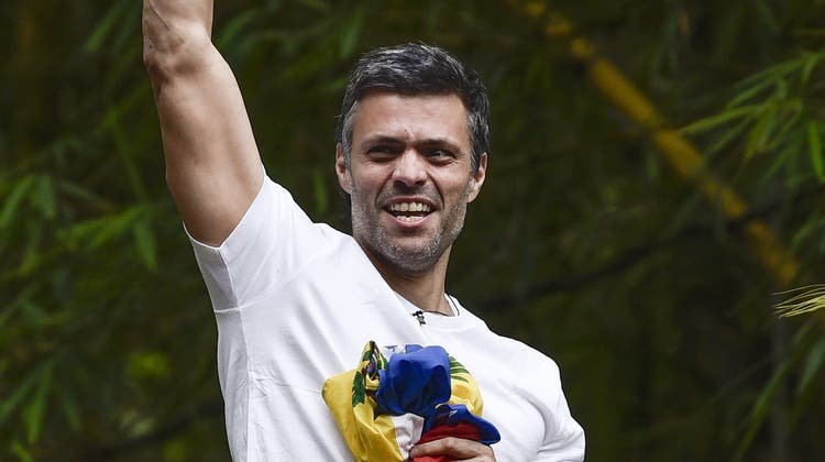 Oppositionsführer Leopoldo Lopez. (Bild: Carlos Becera/Bloomberg (Caracas, 8. Juli 2017))