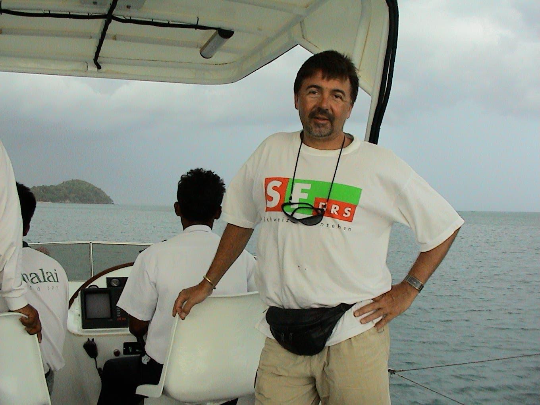 Marco Lucchi bereist für das Schweizer Fernsehen viele Orte dieser Welt. (Bild: PD)
