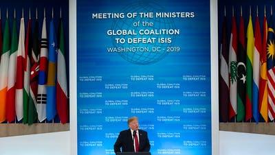 Trump kündigt Fortsetzung von US-Kampf gegen IS an