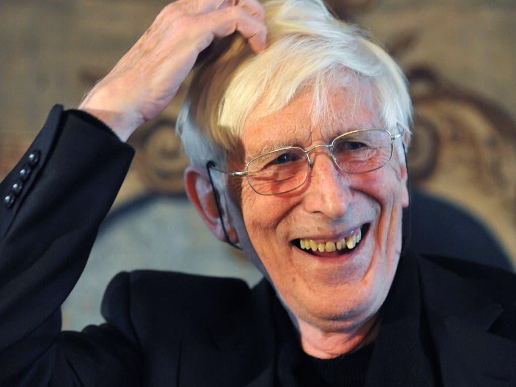 Der mit 87 Jahren verstorbene Zeichner Tomi Ungerer war auch als scharfzüngiger Autor bekannt. (Bild: KEYSTONE/EPA DPA/ROLF HAID)