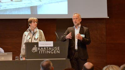Christine Luginbühl und Chefarzt Roland Kunz referieren an der interdisziplinären Fachtagung in der Kartause Ittingen. (Bild: Christoph Heer)