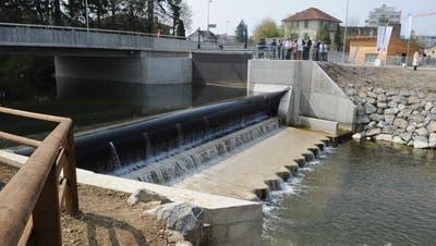 Hat seinen Anteil am Gold-Label: das Kleinwasserkraftwerk Zeughausbrücke in Frauenfeld. (Bild: Nana do Carmo)