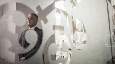 Trotz Rekordbusse: Sergio Ermottis Lohn bleibt wohl üppig. (Bild: Qilai Shen/Bloomberg, Schanghai, 8. Januar 2018)