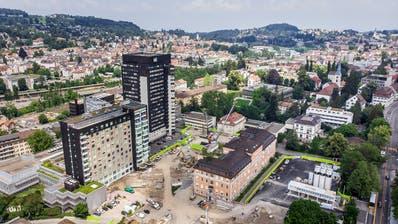 Das Kantonsspital St.Gallen. (Bild: Michel Canonica)