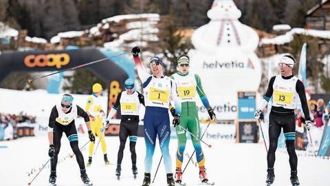 Engadin Skimarathon: Dario Cologna attackiert früh und siegt mit Streckenrekord