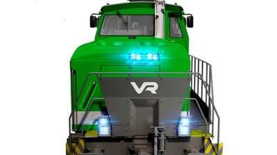Visualisierung der Stadler-Diesellok für die finnische VR Group. (Bild: PD)