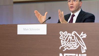 Nestlé-Chef Mark Schneider hat 9 Millionen Franken im 2018 verdient