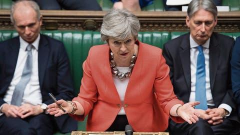 Grossbritannien: Parlamentarier erteilen Mays Brexit-Deal erneut eine Absage