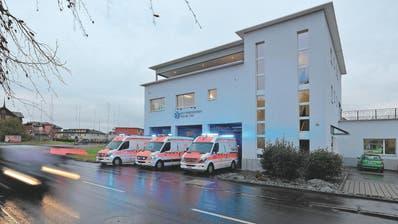 Der Rettungsdienst Seetal stellt die Notfallversorgung für 30'000 Personen sicher. Bild: Rettungsdienst Seetal