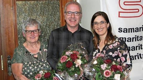 Drei Mitglieder des Samaritervereins erhalten Henry Dunant Medaille