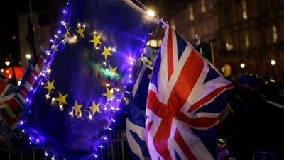 Das Unterhaus hat gegen einen EU-Austritt ohne Abkommen gestimmt. (Bild: Mark Duffy/UK Parliament via AP)