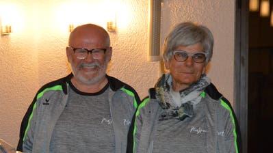 Roland Erni und Gabriela Bachmann wurden für ihr grosses Engagement verdankt und geehrt. (Bild: Zita Meienhofer)